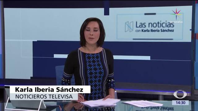 noticias, televisa news, Las noticias, con Karla Iberia, Programa, 12 de mayo de 2017