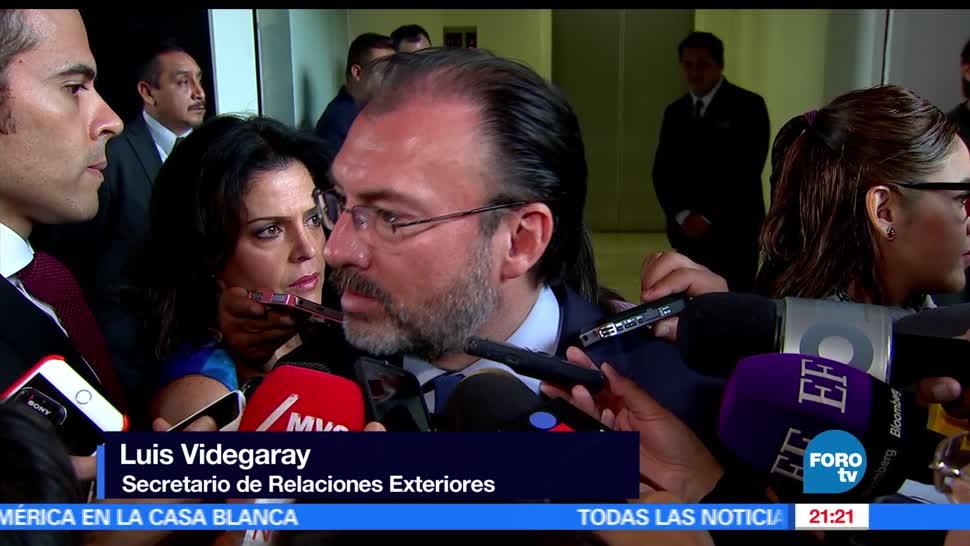 gobierno de México, negociación, TLC, Videgaray