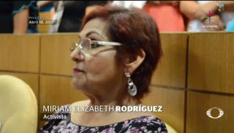 retrato hablado, asesino, activista, Miriam Rodríguez, Asesinato, Tamaulipas