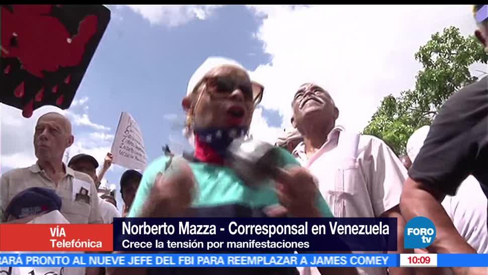 Protestas, Venezuela, El corresponsal, Norberto Mazza