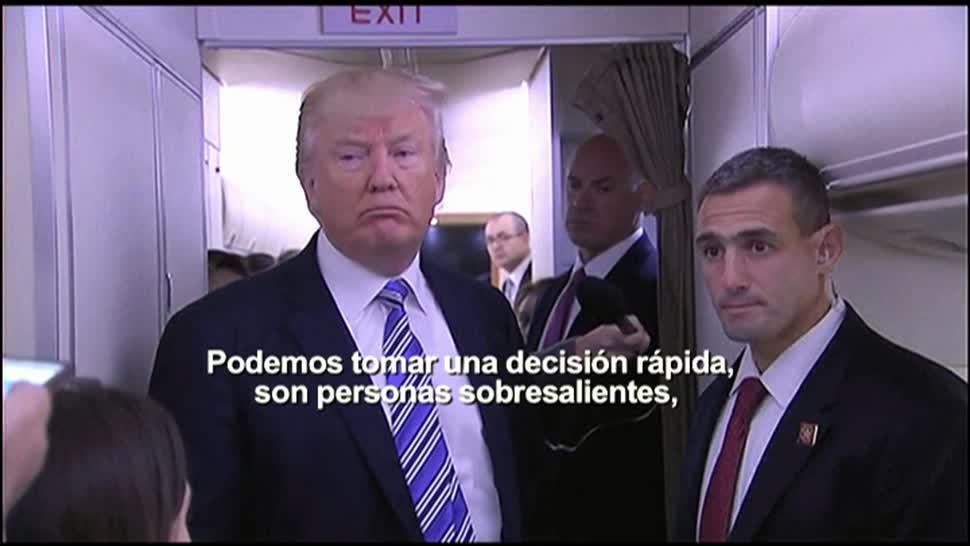Trump, nuevo director, FBI, presidente, gabinete de EU, James Comey