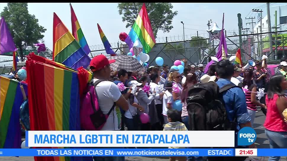 marcha, LGBTTI, día contra la homofobia, Iztapalapa, comunidad, gay