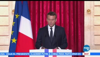 Macron, presidencia de Francia, ceremonia, Palacio del Elíseo