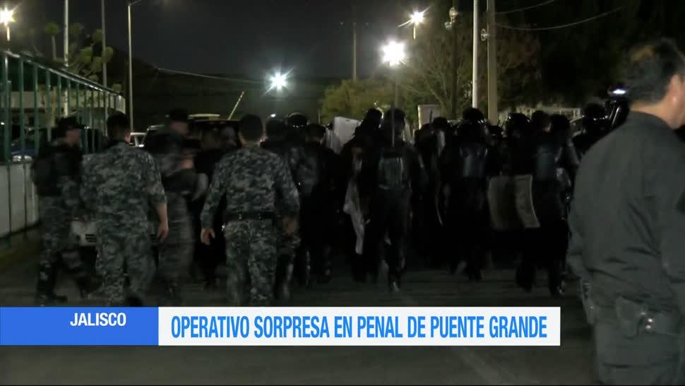Operativo sorpresa, Puente Grande, fiscalía, Jalisco