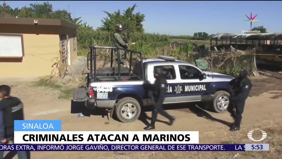elementos de la Marina, agredidos, patrullajes, La Palma, Navolato