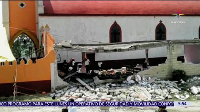 Almoloya de Juárez, Estado de México, explosión de pirotecnia, Virgen de Fátima