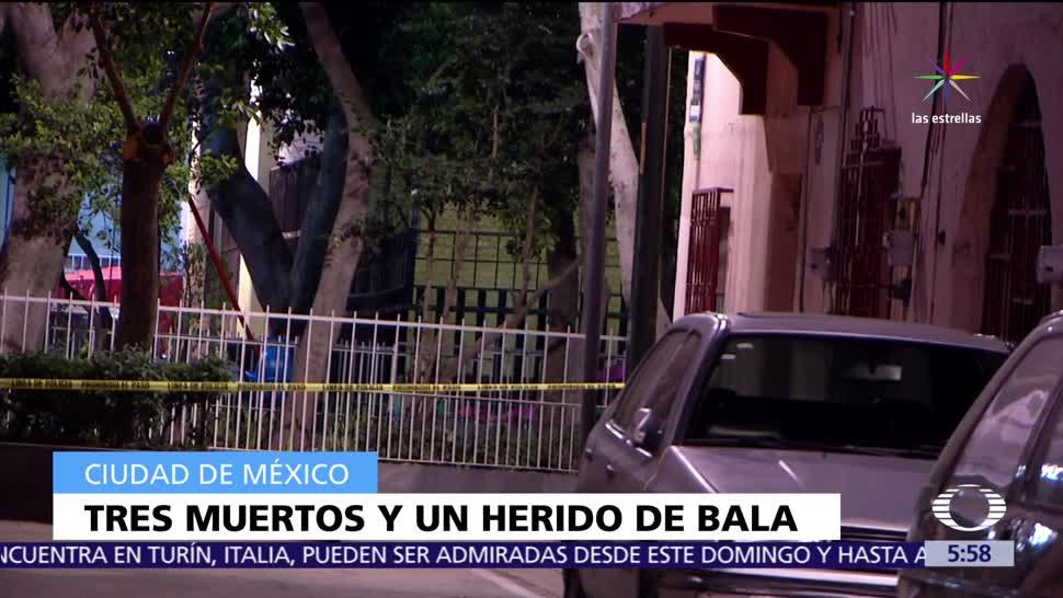 agresiones, arma de fuego, Ciudad de México, muertos