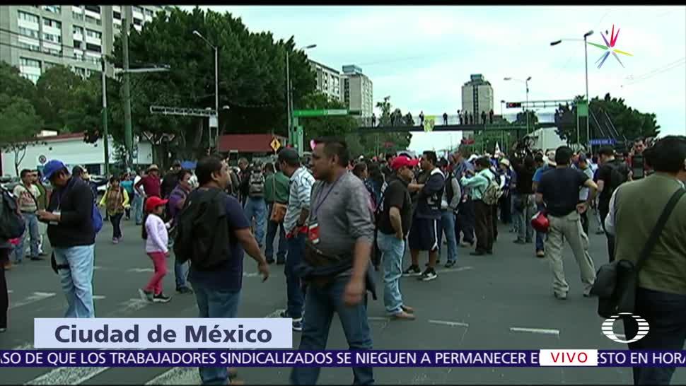 Día del Maestro, SSPCDMX, operativo de seguridad, movilidad, Avenida Reforma