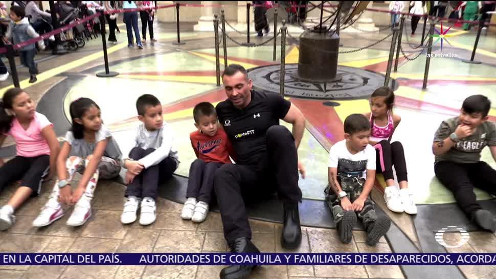 Diego Di Marco, inculcar, hábito saludable, ejercicio en los niños