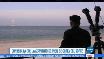 ONU, conde lanzamiento, Corea del Norte, Consejo de Seguridad de Naciones Unidas