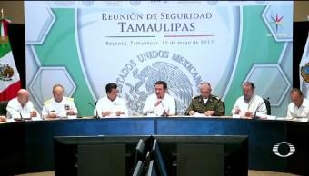 noticias, Televisanews, Reunión, Seguridad, Tamaulipas, Reynosa