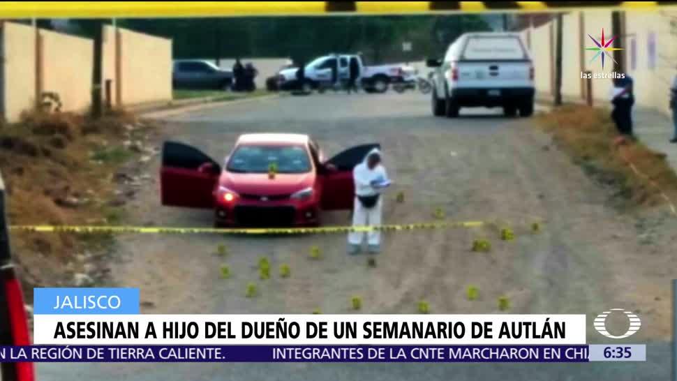 hijo del dueño, semanario El Costeño, hombres armados, Jonathan Rodríguez Córdova