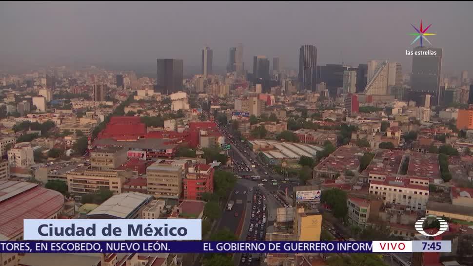 mala calidad del aire, Estado de México, fase I de contingencia, reporte