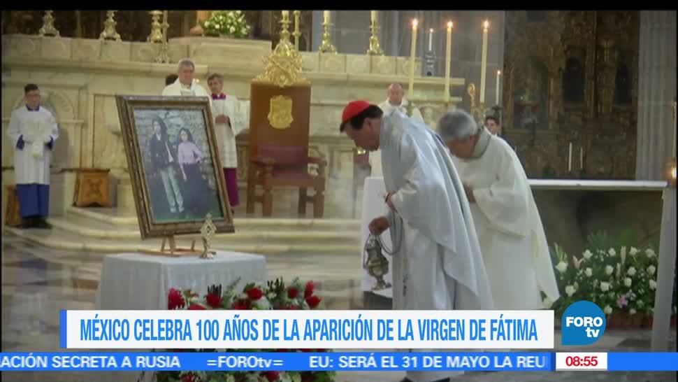 Héctor Alonso, misa, apariciones, Fátima