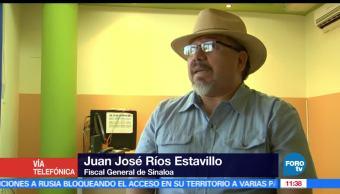 Juan José Ríos, fiscal, Sinaloa, línea de investigación