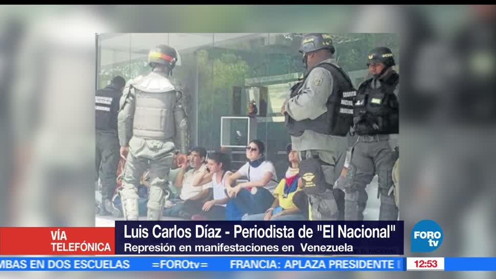 periodista, Luis Carlos Díaz, 42 muertos, protestas contra Nicolás Maduro