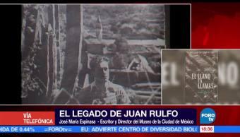 José María Espinasa, escritor y director del Museo de la Ciudad de México, Juan Rulfo, lectores en su época