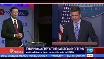 Yadira Gálvez, internacionalista de la UNAM, Trump, justicia por pedir al FBI