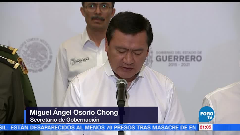 noticias, FOROtv, Osorio Chong, trabaja, estrategia, proteger a periodistas