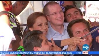 noticias, FOROtv, Ricardo Anaya, Tlalnepantla, elección del Edomex, presidente nacional del PAN