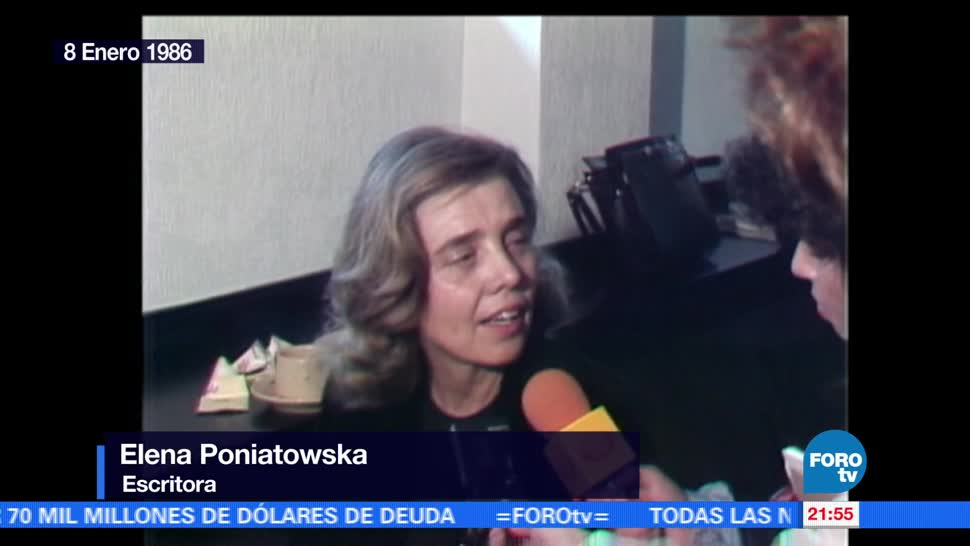 noticias, FOROtv, Poniatowska, sentido de autocritica, Juan Rulfo, Elena Poniatowska