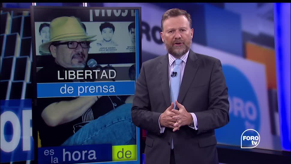 noticias, forotv, Javier Valdez, libertad de prensa, Antonio Martínez Velázquez, muerte de periodistas