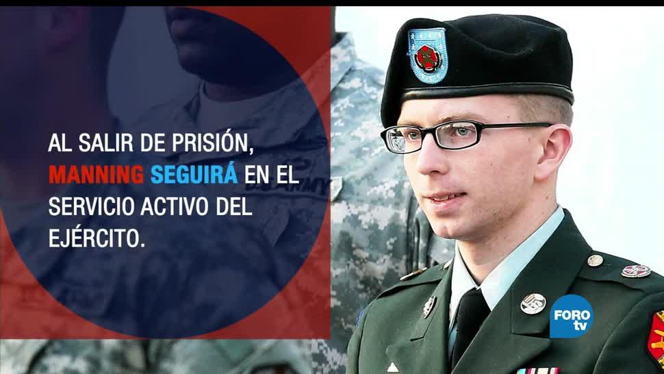noticias, forotv, Chelsea Manning, libertad, filtración de documentos, prision