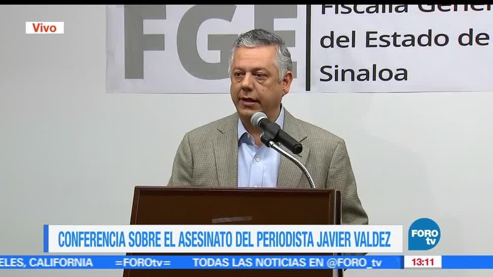 noticias, forotv, Actividad periodistica, linea de investigacion, asesinato, Javier Valdez