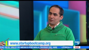 noticias, FOROTV, Startupbootcamp, Fintech, Startupbootcamp Fintech, Eduardo Morelos