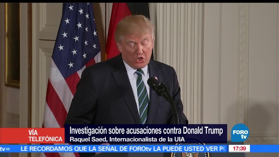 Investigarán, Trump, supuesta, relación Rusia, Elecciones, Ingenrencia Elecciones Estados Unidos