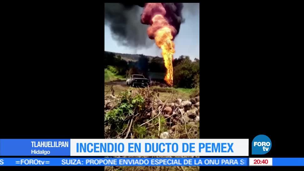 noticias, forotv, Estalla, toma clandestina, Hidalgo, poliducto de Pemex
