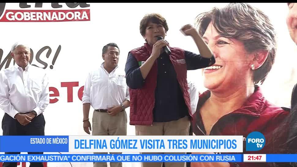 Delfina Gómez, visita, Tenancingo, Morena, Visita, Tenenancingo,