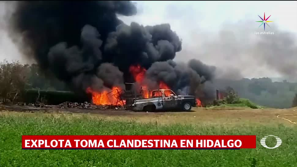 Explota, toma, clandestina, Hidalgo, ducto de Pemex, Juandhó
