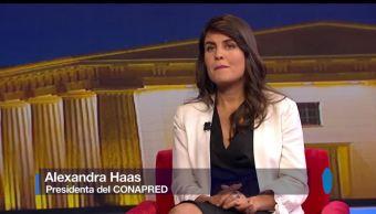 Genaro Lozano, entrevista, Alexandra Haas, Conapred, Día Internacional contra la Homofobia, Transfobia