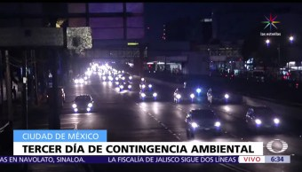 contingencia, Valle de México, autos, placa non