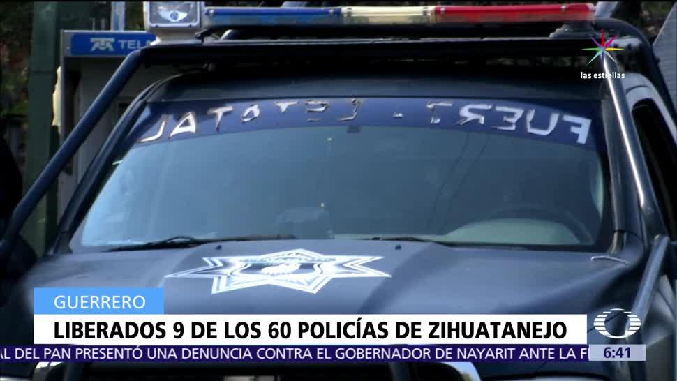 Liberan, policías, detenidos, Fiscalía de Guerrero