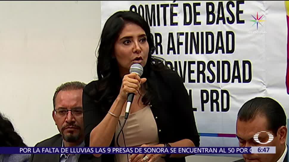 Alejandra Barrales, alianza, electoral. Partido de la Revolución Democrática