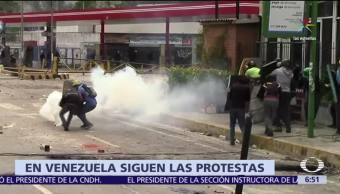 Venezuela, Caracas, trabajadores, opositores, Nicolás Maduro