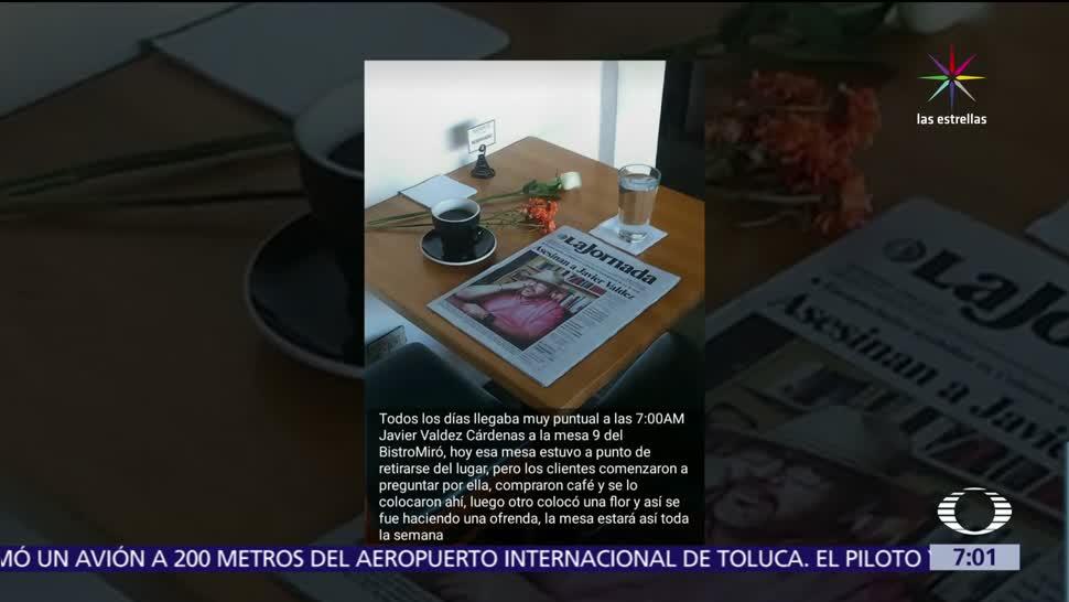 café Miró, Culiacán, homenaje, periodista asesinado, Javier Valdez