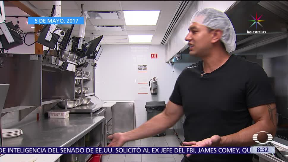 Al Aire con Paola, migrante repatriado, Ricardo González, restaurante