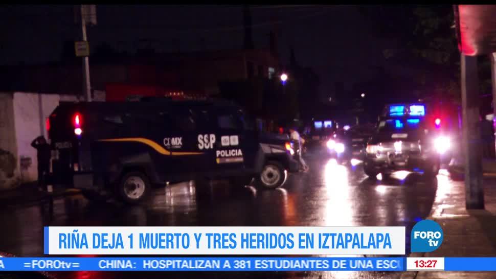 noticias, FOROtv, Pelea, vecinos, provoca, muerto en Iztapalapa