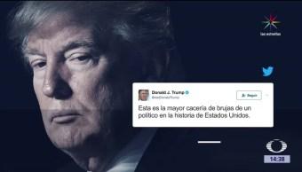 noticias, televisa news, escandalo, Trump, denuncia, cacería de brujas
