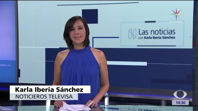 noticias, televisa news, Las noticias, con Karla Iberia, Programa, 18 de mayo 2017