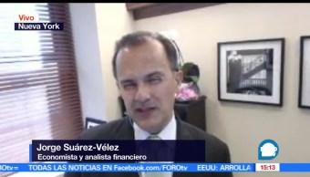 noticias, Jorge Suárez Vélez, renegociación, TLCAN, relación comercial, a las tres