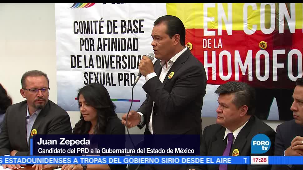 noticias, FOROtv, Juan Zepeda, visita, antigua sede, PRD