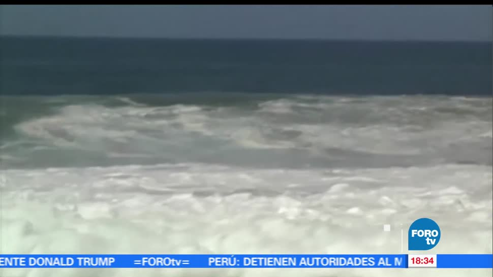 Autoridades, Protección Civil, Alerta, mar de fondo, Guerrero, costas playas