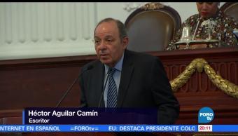 Asamblea legislativa, ciudad de mexico, Entregan, Medalla, Mérito en Artes, 2016