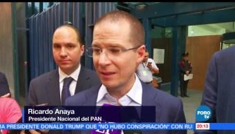 Ricardo Anaya, presenta, denuncia PGR, Humberto y Rubén Moreira, Presidente Nacional, PAN