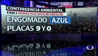 ambiental, edomex, cdmx, contaminación, hoy no circula, viernes