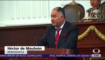 ALDF, un minuto de silencio, Asamblea Legislativa de la CDMX, muerte de periodistas